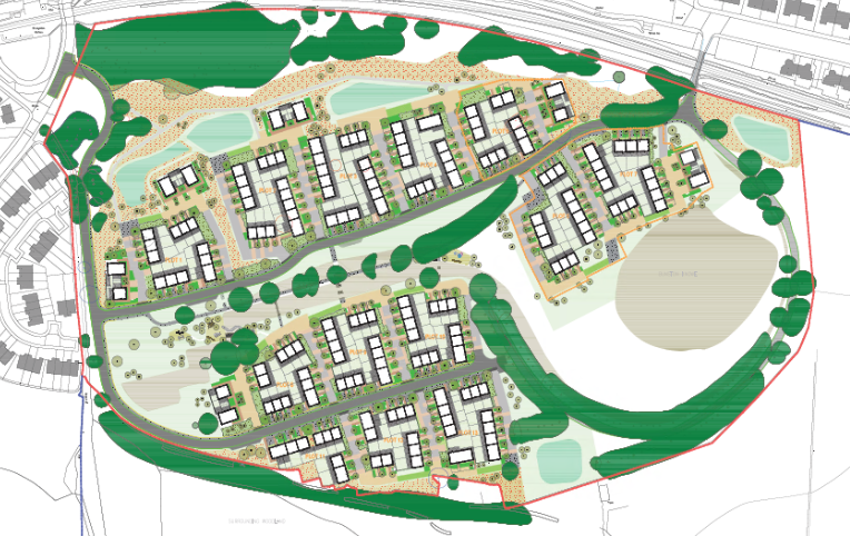 Ravenscraig Site Plan
